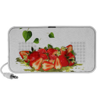 Strawberries iPod Speakers