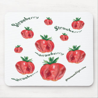 Strawberries Mouse Pads