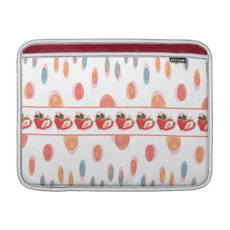 Strawberries Sleeve For MacBook Air