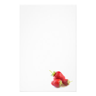 Strawberries Stationery