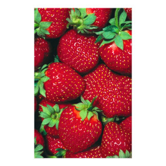 Strawberries Stationery Design
