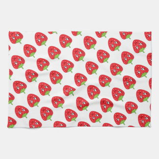 Strawberries Tea Towel