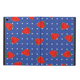 strawberries with dots case for iPad air