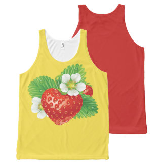 STRAWBERRY-7 All-Over PRINT SINGLET