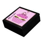 Strawberry and Chocolate Cupcake Gift Box