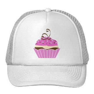 Strawberry and Chocolate Cupcake Hat