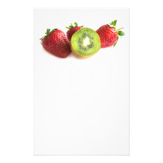 Strawberry and kiwi flyer