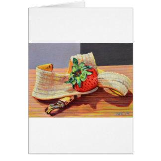 Strawberry Banana Split Card