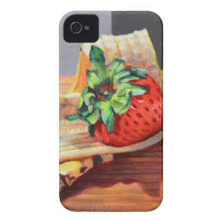 Strawberry Banana Split iPhone 4 Covers