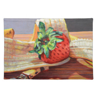 Strawberry Banana Split Placemat