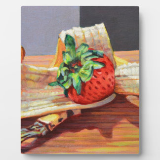 Strawberry Banana Split Plaque