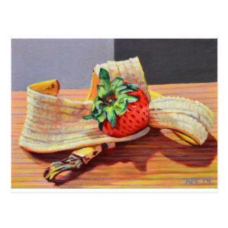 Strawberry Banana Split Postcard