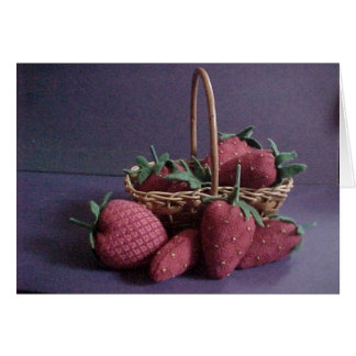 Strawberry Basket Card