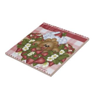 Strawberry Bear Tile
