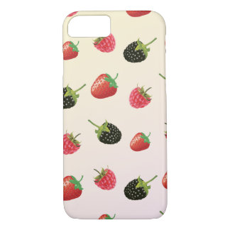 Strawberry, Blackberry, Raspberry: delicious fruit iPhone 7 Case