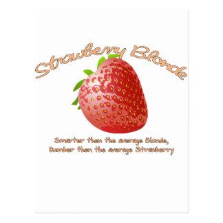 Strawberry Blonde Postcard