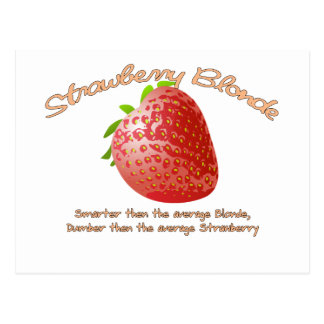 Strawberry Blonde Postcard