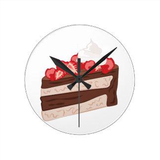 Strawberry Cake Wallclock