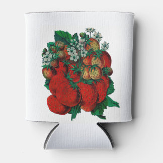 Strawberry cancooler can cooler