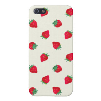 Strawberry Case For iPhone 5/5S