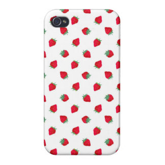 Strawberry Cases For iPhone 4