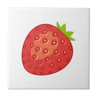 Strawberry Ceramic Tile