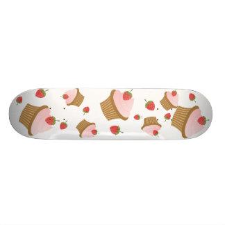Strawberry Chocolate Cupcake 21.3 Cm Mini Skateboard Deck