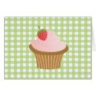 Strawberry Chocolate Cupcake Card