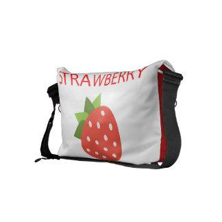 Strawberry Courier Bag