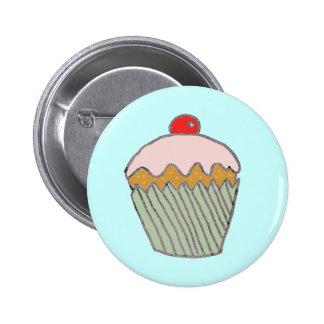 Strawberry Cupcake Pin