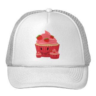 Strawberry Cupcake Family Trucker Hats