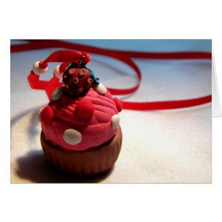 Strawberry Cupcake Greeting Card