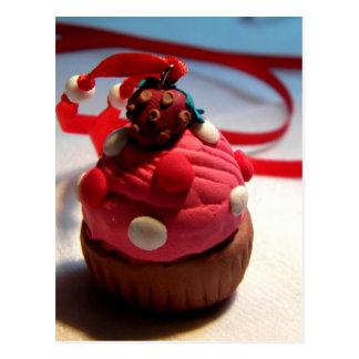 Strawberry Cupcake Postcard