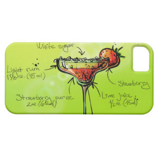 Strawberry Daiquiri Recipe - Cocktail Gift iPhone 5 Covers
