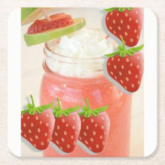 Strawberry Daquiri Coaster