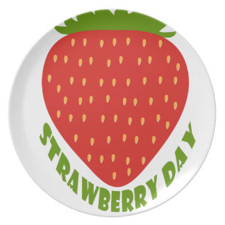 Strawberry Day - Appreciation Day Plate
