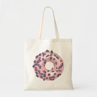 Strawberry Dipped Doughnut. Tote Bag