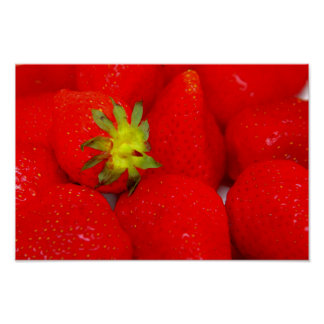 Strawberry Extravaganza Poster