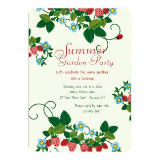 Strawberry Field Invitation