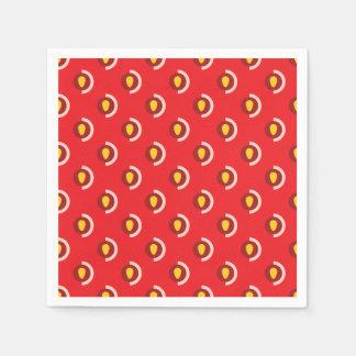 Strawberry Fields Paper Serviettes