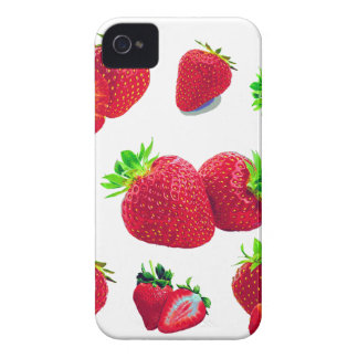 Strawberry Fruit Pattern iPhone 4 Case