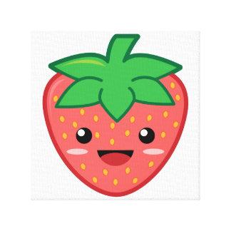 Strawberry Gallery Wrap Canvas