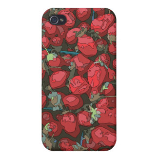 Strawberry Harvest iPhone 4/4S Covers
