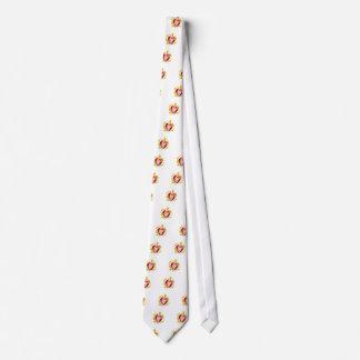 strawberry heart tie
