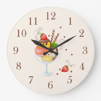 strawberry hoists cream clocks