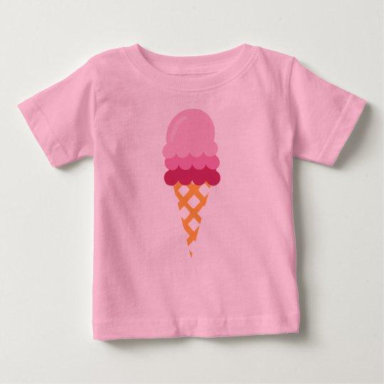 Strawberry ice cream baby T-Shirt