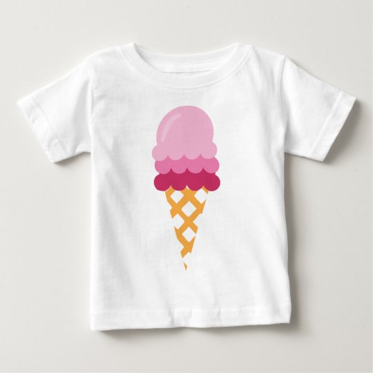 Strawberry ice cream baby T-Shirt