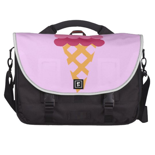 Strawberry ice cream bags for laptop