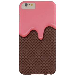 Strawberry Ice Cream Cone Barely There iPhone 6 Plus Case