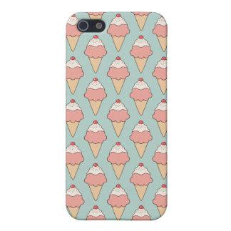 Strawberry Ice Cream iPhone 5 Case